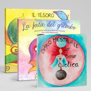 Il tesoro di Lilith + La Fata del Grembo + Diario Menstruale